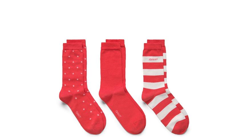 3-Pack Mixed Socken