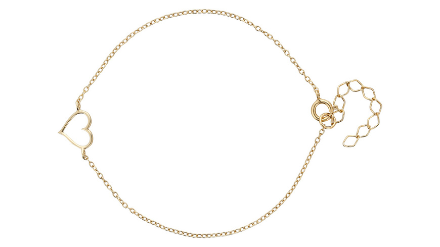 Armband - Golden Heart