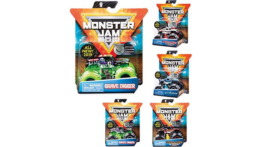 Monster Jam Single Pack 1:64