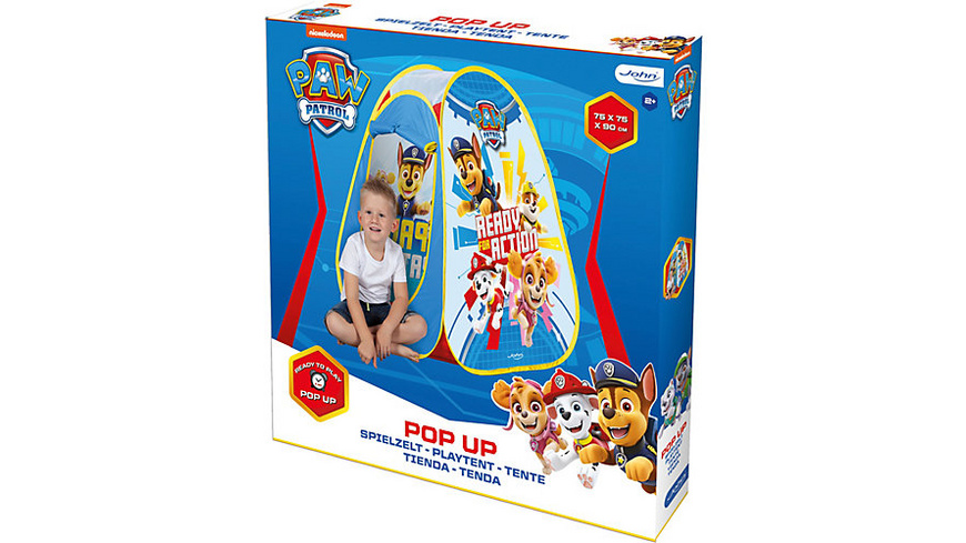 Pop Up Spielzelt PAW Patrol