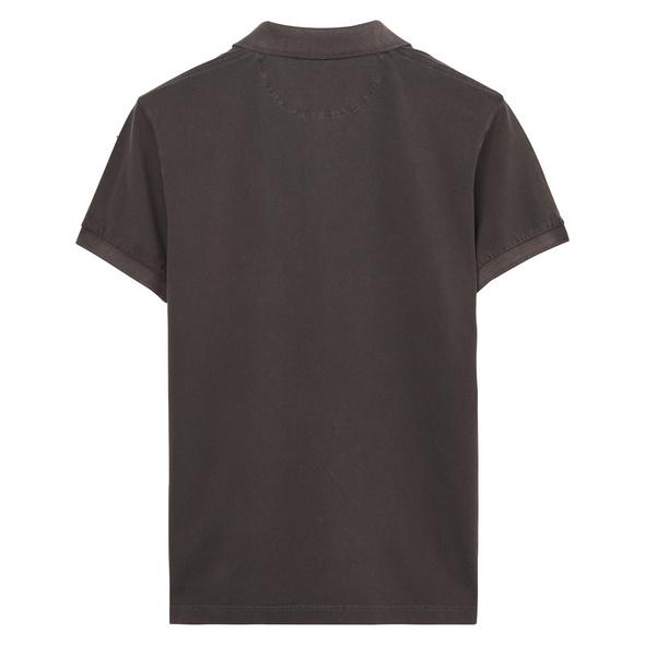 Sunbleached Kurzarm Piqué-Poloshirt