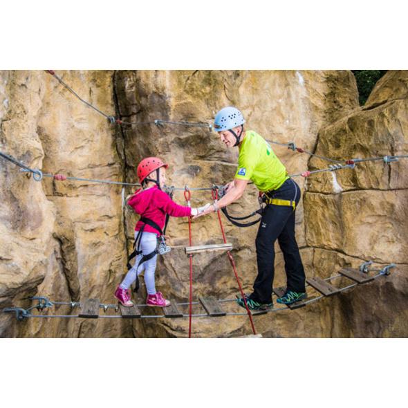 Klettersteig-Welt im Raum Berlin für 2