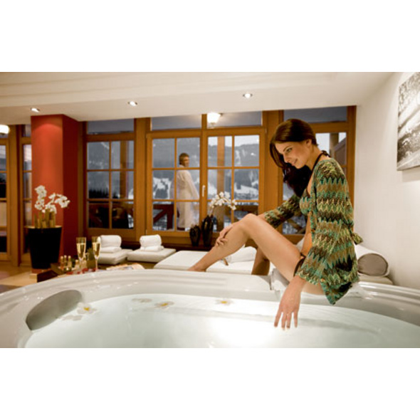 Private Luxus-Spa-Lounge in Kitzbuehel für 2