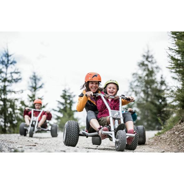 Mountaincart fahren am Sommerberg Fendels