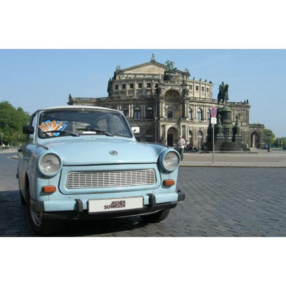 Städtetrip Dresden mit Trabi-Fahrt für 2