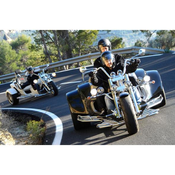 Geführte Trike Tour am Gardasee