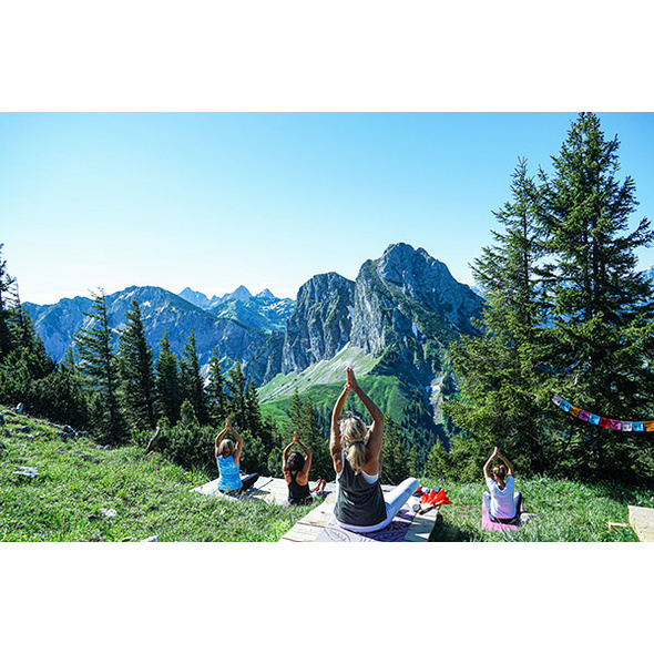 Yoga Kurzurlaub in Pfronten