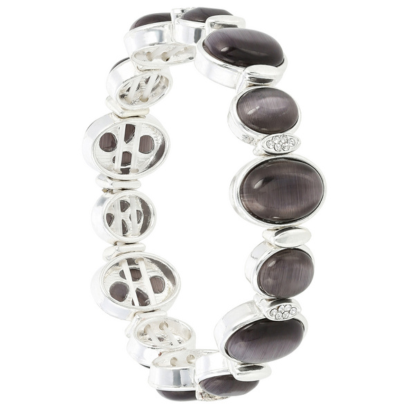 Armband - Silver Cat