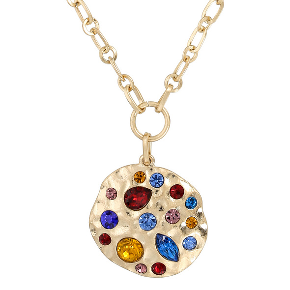 Kette - Colorful Crystal