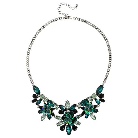 Kette - Green Crystal