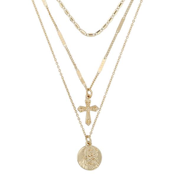 Kette - Gold Prayer