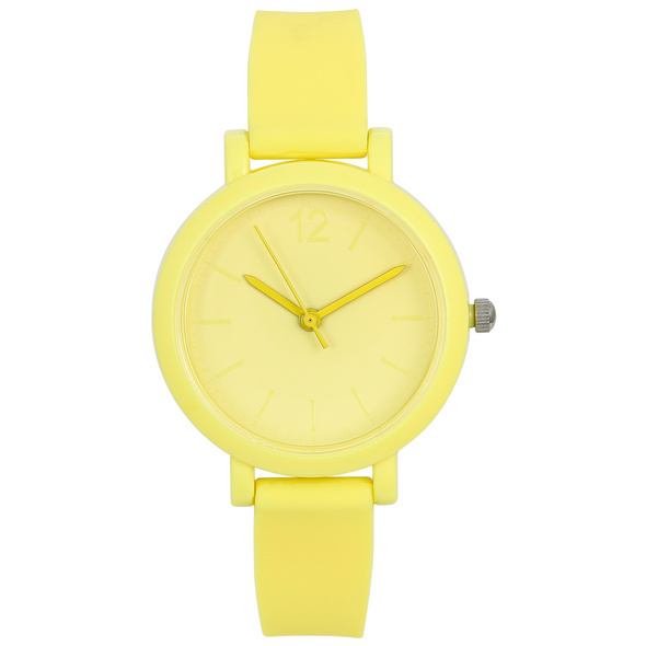 Uhr - Dazzling Yellow