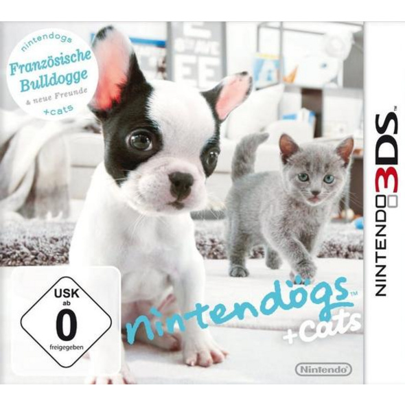Nintendo Nintendogs & Cats French Bulldog