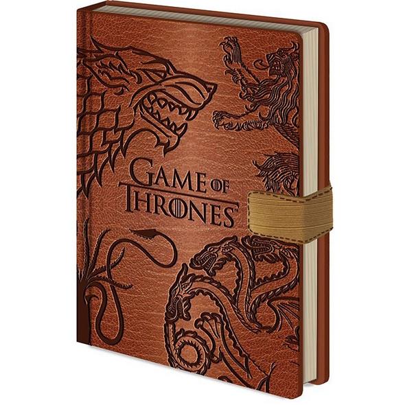 Game of Thrones - Notizbuch A5 Sigils