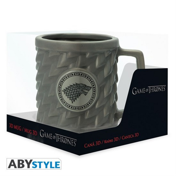 Game of Thrones - Tasse Stark 3D