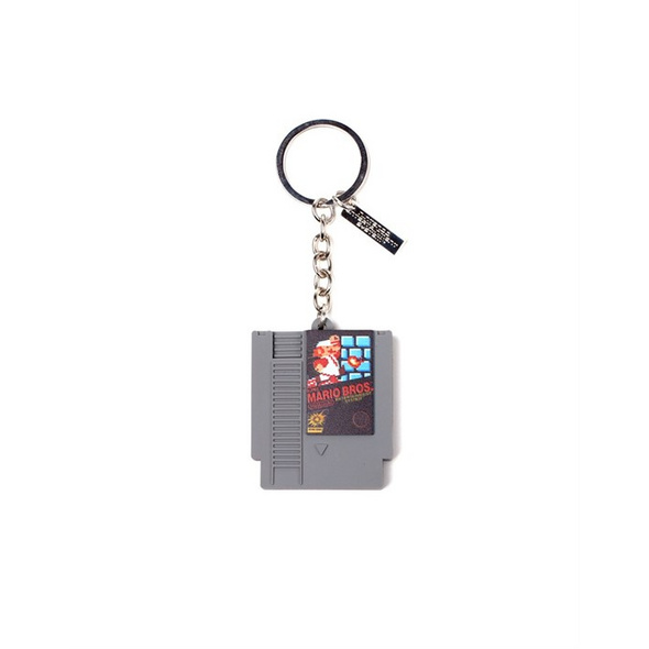 Nintendo - Schlüsselanhänger Super Mario Cardridge 3D