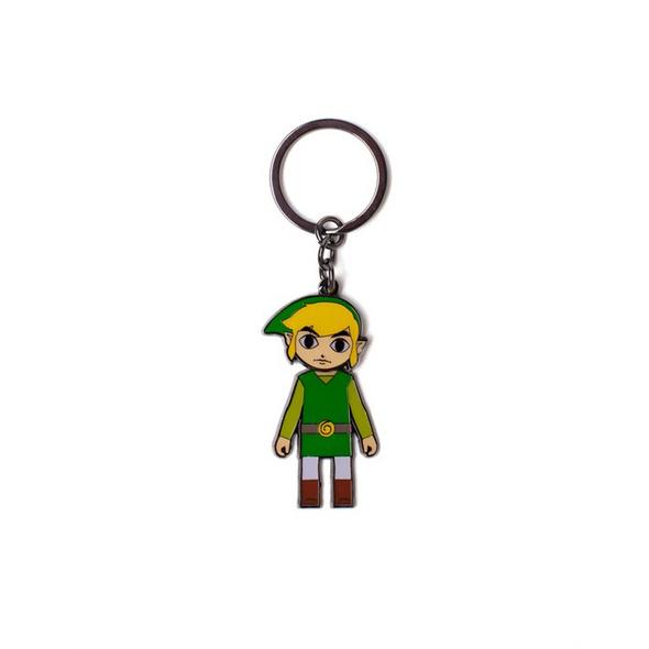 The Legend of Zelda - Schlüsselanhänger Link (bewegbarer Kopf)