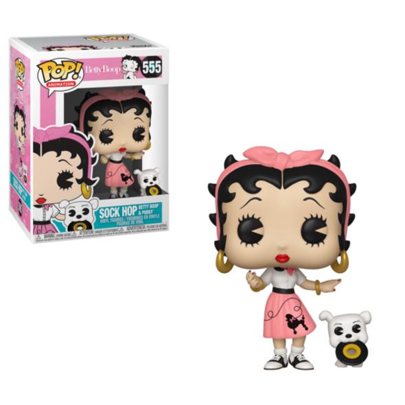 Betty Boop - POP!-Vinyl Figur Sock Hop