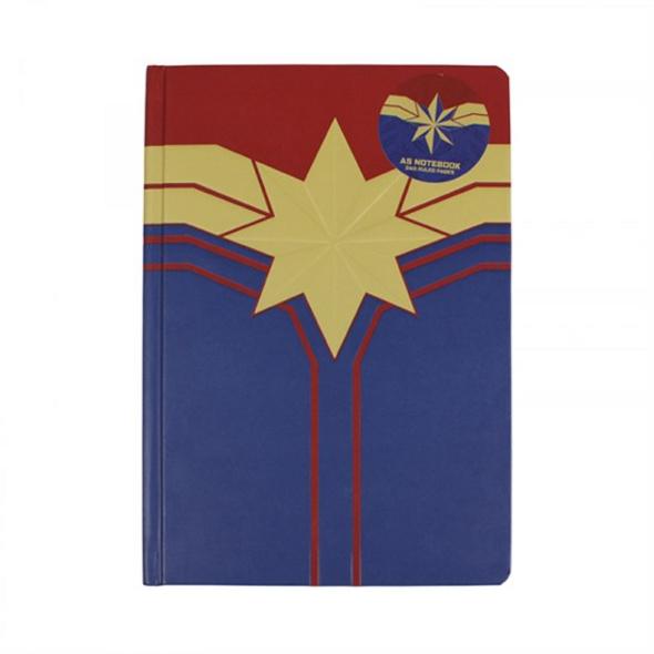 Captain Marvel - Notizbuch Logo