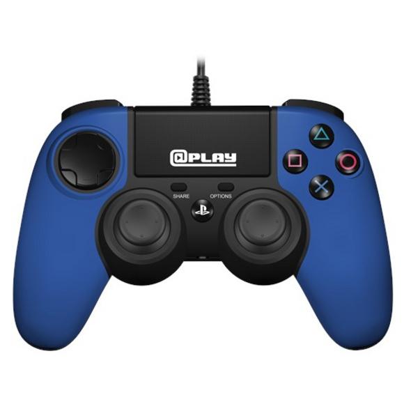 @Play PS4 Controller 2.0 (kabelgebunden) blau