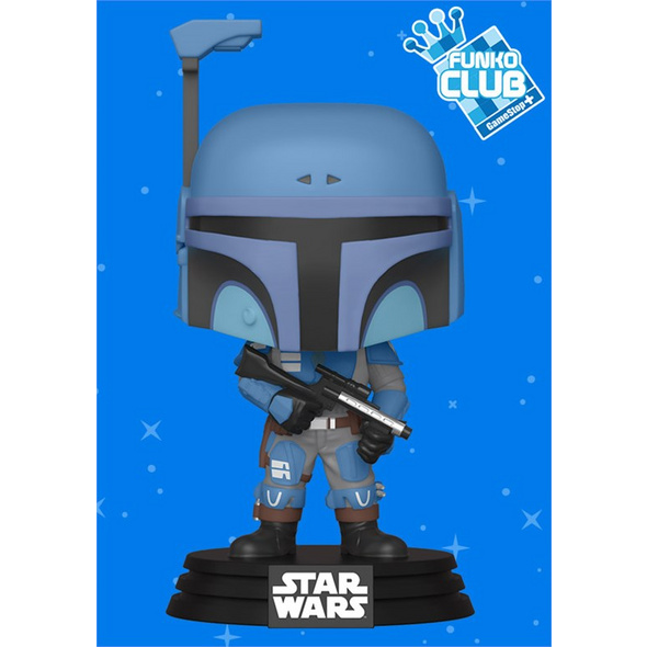 Star Wars: The Mandalorian - POP!-Vinyl Figur Death Watch (Funko Club exklusiv!)