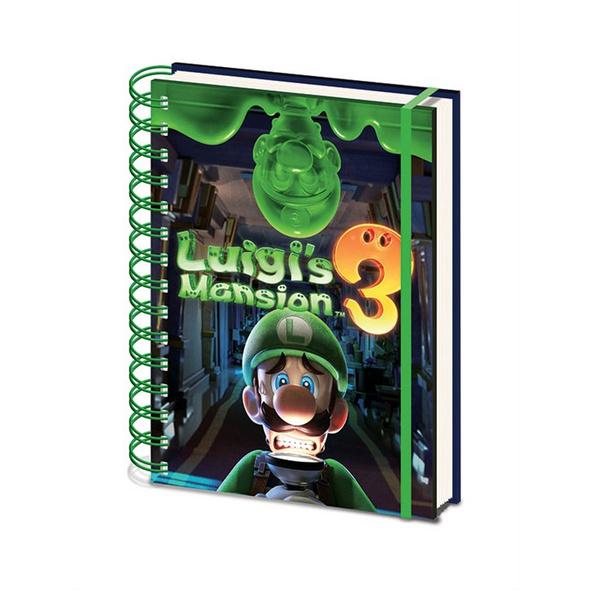 Luigi's Mansion 3 - Notizbuch A5