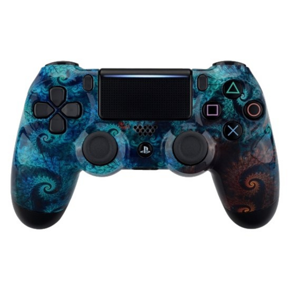 PS4 Dualshock Rebuilt Controller Abyss (Glossy)