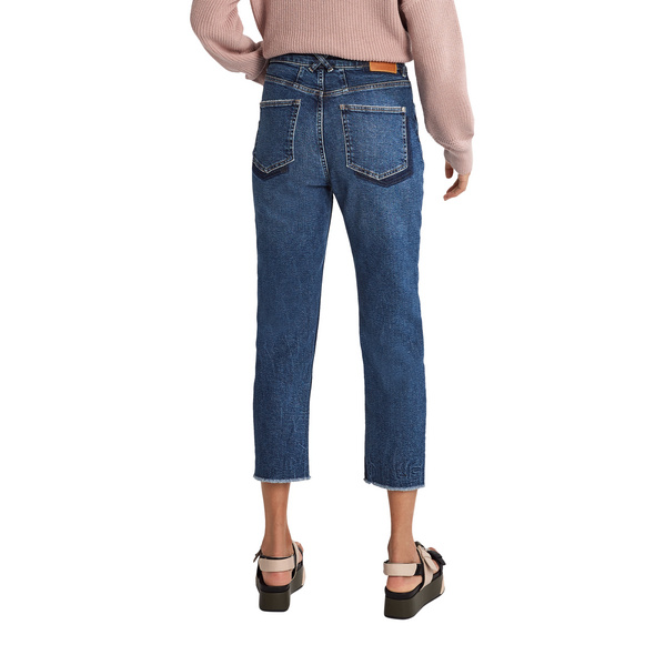 Mom-Jeans im Used Look - Jeans