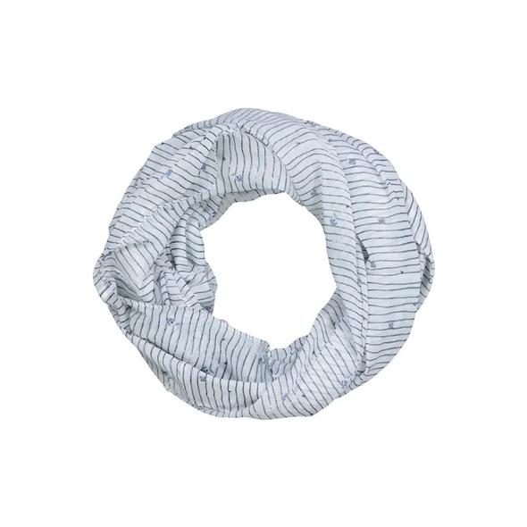 Loop, Streifen, Blüten, feine Qualität