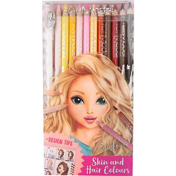 TOPModel Buntstifteset, Haut-  und Haartöne