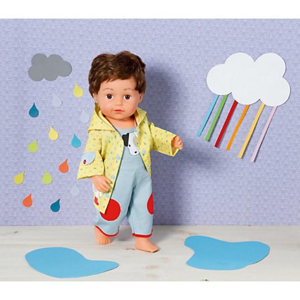 Dolly Moda Latzhose mit Regenjacke 43cm