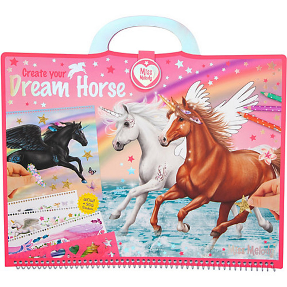 Miss Melody Kreativkoffer Create your Dream Horse