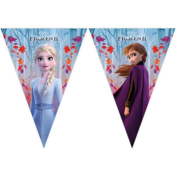 Flagbanner Disney Die Eiskönigin 2, 1 Stück