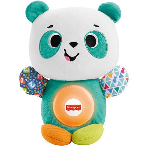 Fisher-Price BlinkiLinkis Panda, Baby-Spielzeug mit Musik, Lernspielzeug