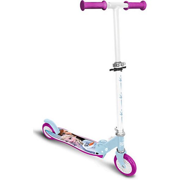 Disney Die Eiskönigin Roller mit Bremse, klappbar