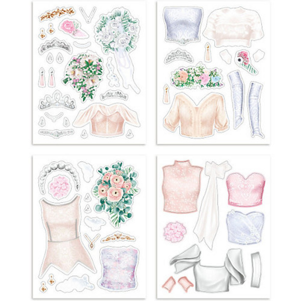 TOPModel Create your Wedding Special Malbuch