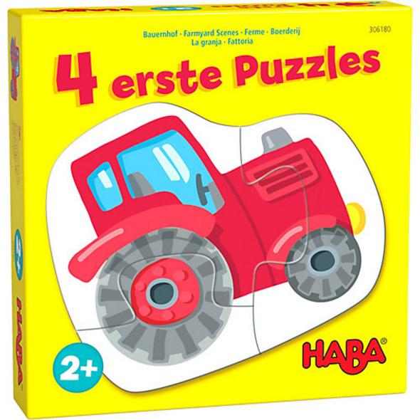 4 erste Puzzles – Bauernhof