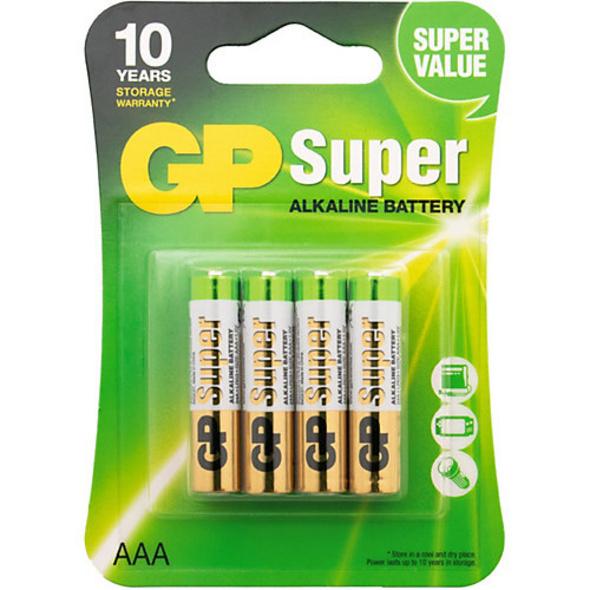 Batterien 4er Blister (AAA, Micro, LR 03, AM-4, UM-4)
