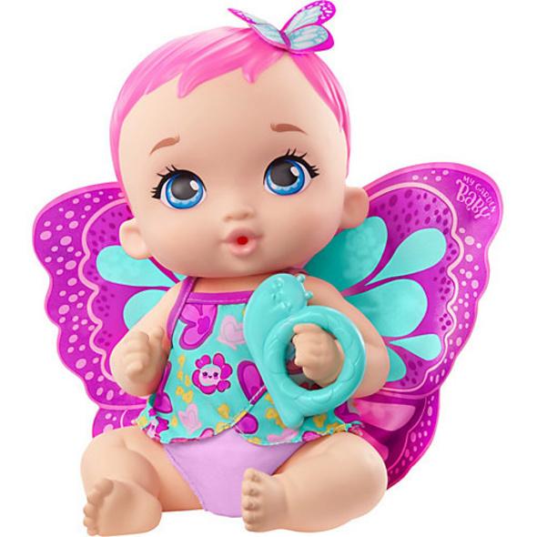 My Garden Baby Schmetterlings-Baby Puppe (rosafarbenes Haar)