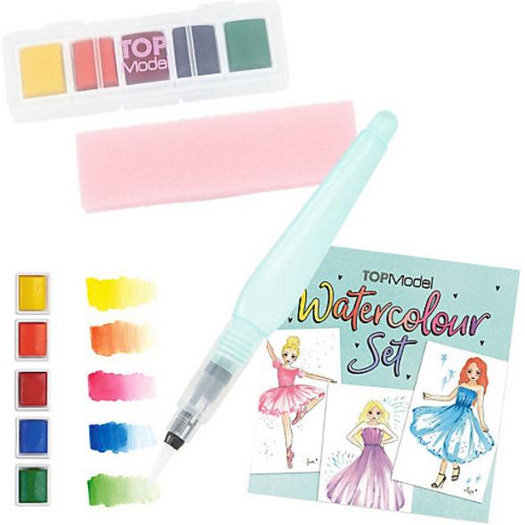 TopModel Wasserfarben-Set