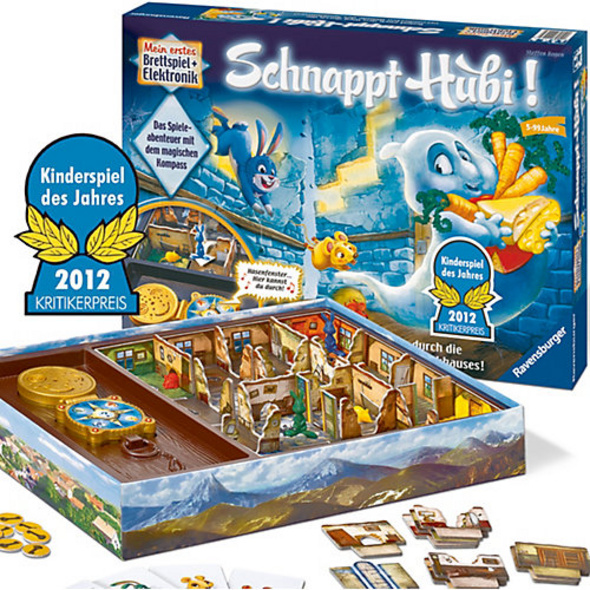 KINDERSPIEL DES JAHRES 2012 Schnappt Hubi!