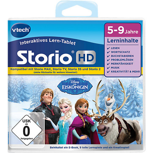 """Storio 2, 3S, Max & TV Storio HD Lernspiel """"Die Eiskönigin"""""""