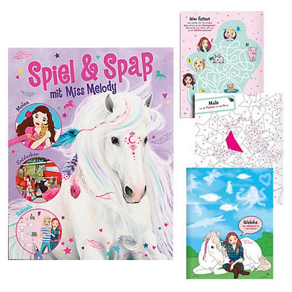 Miss Melody Activity Book, malen, kritzeln, Spaß haben