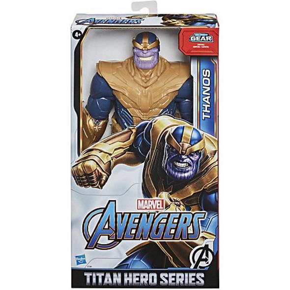 Marvel Avengers Titan Hero Serie Blast Gear Deluxe Thanos Action-Figur, 30 cm