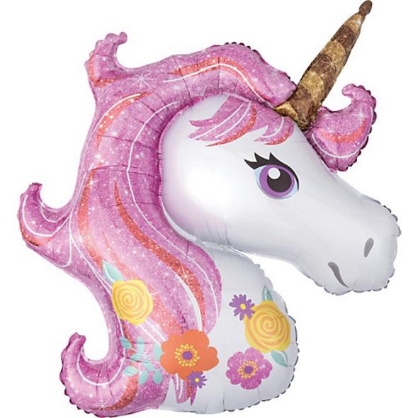 Folienballon SuperShape Magical Unicorn