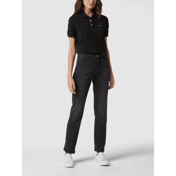 Jeans in gerader Passform mit Stretch-Anteil