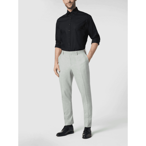 Regular Fit Business-Hemd aus Baumwolle
