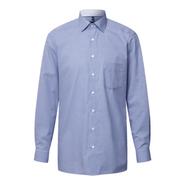 Modern Fit Hemd mit Vichy-Karo - bügelfrei