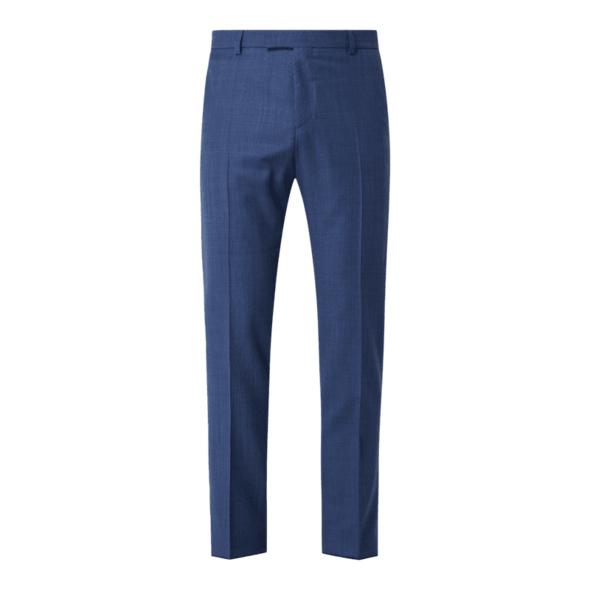 Slim Fit Anzughose aus Schurwollmischung Modell 'Mercer'