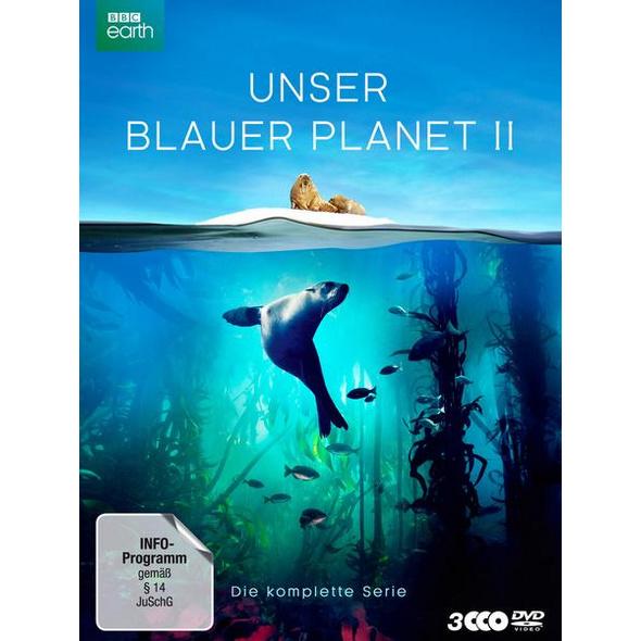 UNSER BLAUER PLANET II - Die komplette ungeschnittene Serie zur ARD-Reihe 'Der blaue Planet'  [3 DVDs]